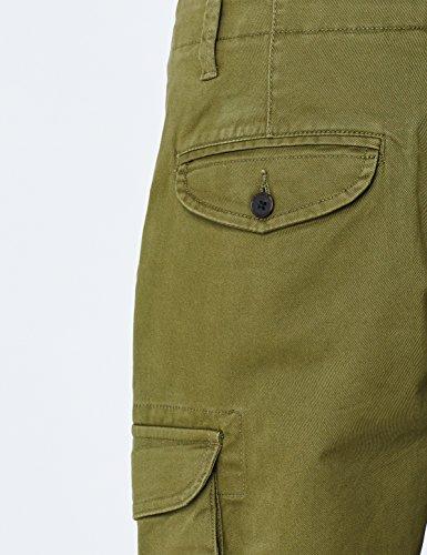 kaki Slim Cargo Fit Pantaloni Uomo Meraki Verde 7RqwzBP