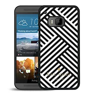 New Fashion Custom Designed Kate Spade Cover Case For HTC ONE M9 Black Phone Case 106