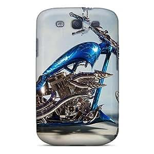 New Galaxy S3 Case Cover Casing(chopper Bike)