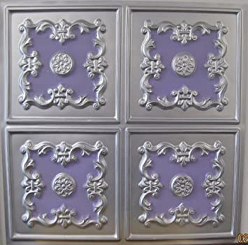 pvc ceiling tiles 2x4 tin silver violet plastic tile pack can be in ghana panels