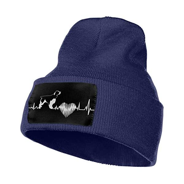 Cgi04T-5 Fashion Knit Cap for Mens and Womens, 100% Acrylic Acid English Springer Spaniel Ski Cap 1