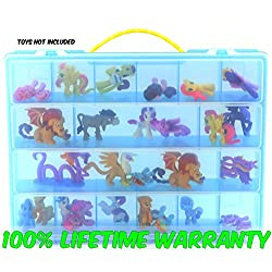 Life Made Better Toy Storage Organizer. Fits Up to 30 Figures. Compatible With My Little Pony TM Mini Figures