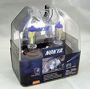 Nokya Magnum Cosmic White H10 Headlight Bulb 5000K
