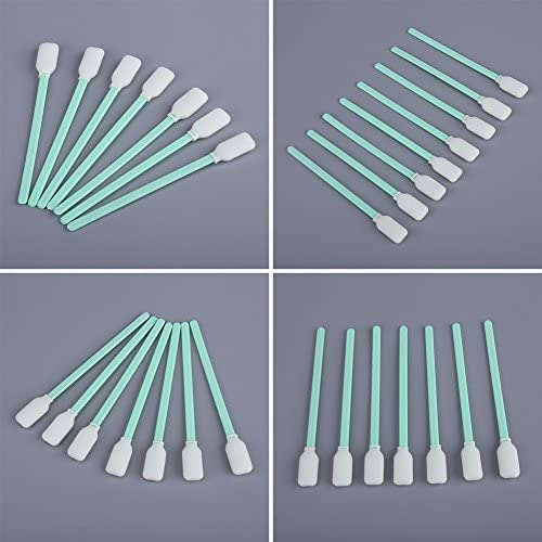 100Pcs Craft Foam Tip Cleaning Sponge Swab Stick Dyeing Painting Polishing Tool