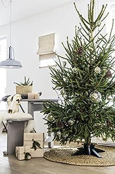 molto robusta con serbatoio per acqua Base di supporto per albero di Natale plastica Green montabile in pochi minuti 560mm