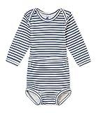 Petit Bateau Boys Long Sleeves 2 PC.Boys Striped Bodysuit Sizes 3-36 Months Style 44947/02B (Size 18/M Style 44947/02B)