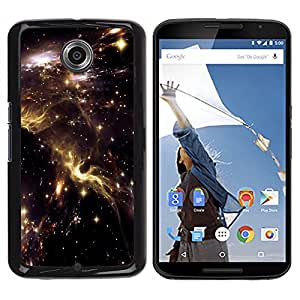 TECHCASE**Cubierta de la caja de protección la piel dura para el ** Motorola NEXUS 6 / X / Moto X Pro ** Universe Sky Nebulae Stars Lights Cosmos