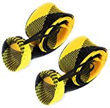 Cheap Reaction Tackle Rod Sock Yellow/Black (Flat-Spin-7)