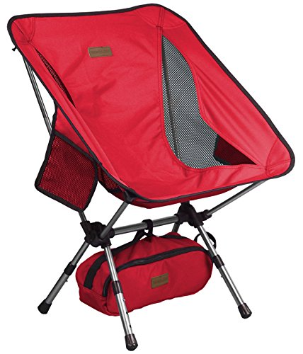 Trekology YIZI Go Portable Camping Chair Adjustable Height - Compact...