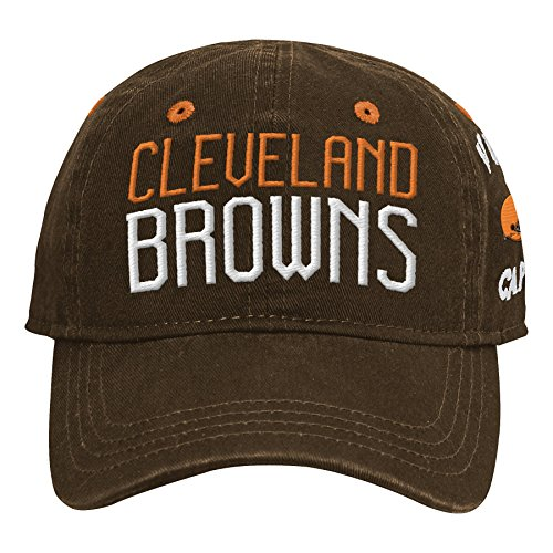 - Outerstuff NFL NFL Cleveland Browns Infant My First Slouch Hat Brown Suede, Infant One Size