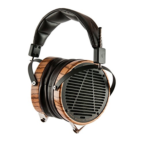 Audeze LCD-3 Over ear Open Back | Zebrano wood ring headphone by Audeze