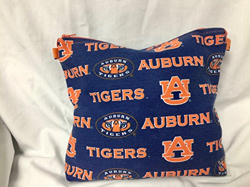 (Auburn Tigers Canvas Handbag Clutch)