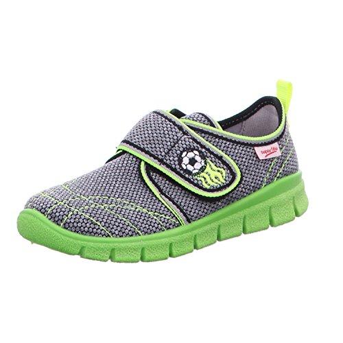 superfit zapatilla para niños superfti 2-00266-06 fútbol gris gris