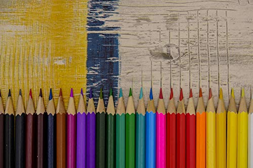 Photography Poster - Colored Pencils, Pens, Crayons, Gloss Finish ()