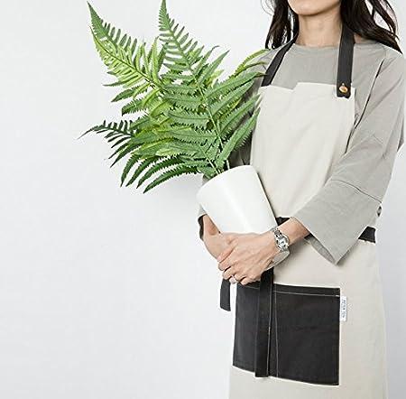 Cozymomdeco Chef Works delantal de hecho a mano japonés espalda ...