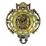Cool 3-D Steampunk Wall Clock Steam Punk Sci-Fi 6