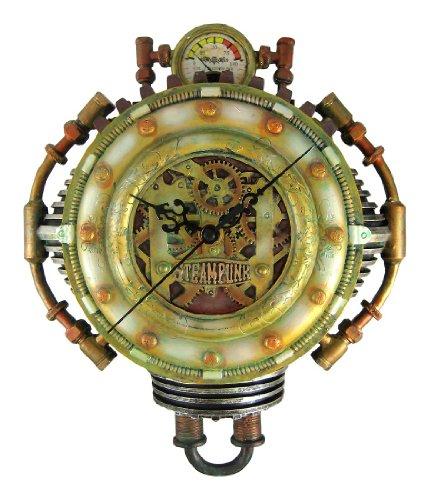 Cool 3-D Steampunk Wall Clock Steam Punk Sci-Fi 3