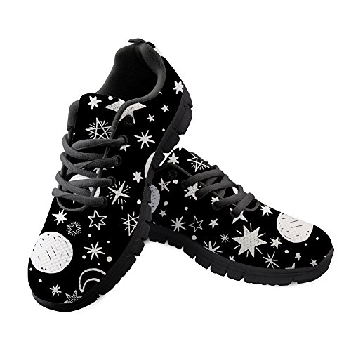 Pattern DESIGNS Print Casual Shoes Athletic FOR Running Cartoon Sneakers Lightweight 6 Women's U on 6xwgqTF7S