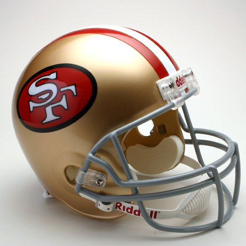 Riddell San Francisco 49ers Official NFL 1964 - 1995 Throwback (1995 Authentic Throwback Helmet)