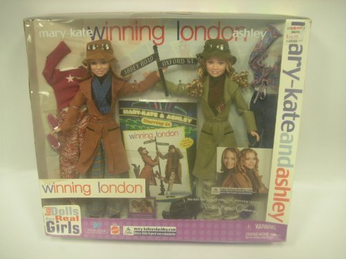 Mary-Kate and Ashley Winning London 2 Pack Doll Set by mattel