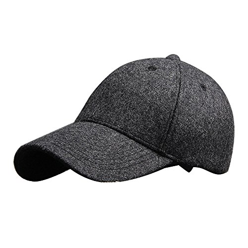 kiwivalley-premium-woolen-fabric-adjustable-baseball-hat-for-woman-and-men-with-one-size-navy-grey