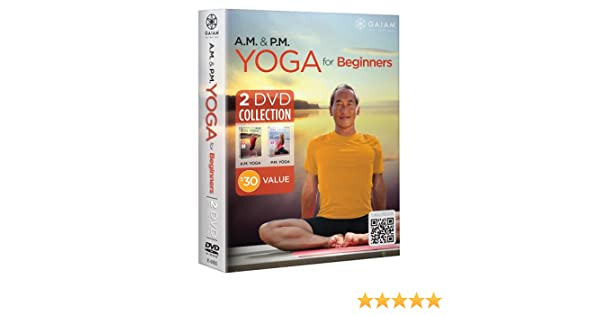 Am & Pm Yoga For Beginners Collection 2pc DVD Region 1 NTSC ...