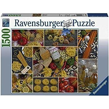 Ravensburger Pasta Jigsaw Puzzle 1500 Piece Toys Games