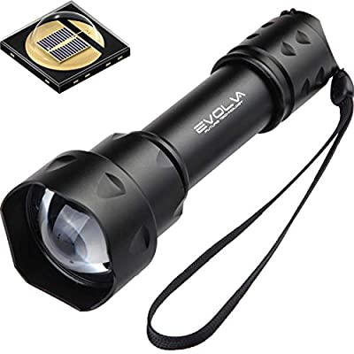 Evolva Future Technology T20 IR 38mm Lens Infrared Light Night Vision Flashlight Torch - Infrared Light is Invisible to Human Eyes - To be used with Night Vision Device from Dimples Excel Ltd