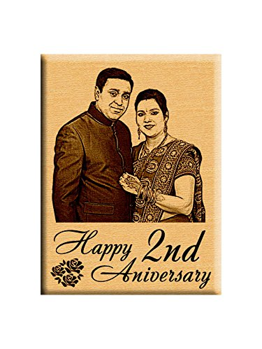 First or 2Nd Marriage Anniversary Gift - Personalized Photo