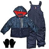 OshKosh Boys 2-7 Heavy Winter Jacket and Snow Pants Bib...