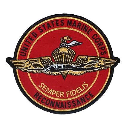 Amazon United States Marine Corps Reconnaissance Patch Large