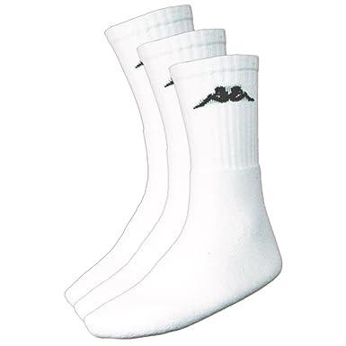 Kappa Negrit Logo - Calcetines de deporte para hombre, tamaño 39-42, color