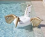 FUNBOY Giant Inflatable Pegasus Pool Float, Luxury