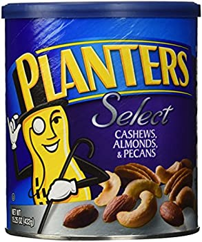 Planters Mixed Nuts, Select Mixed Nuts, 15.25 Oz