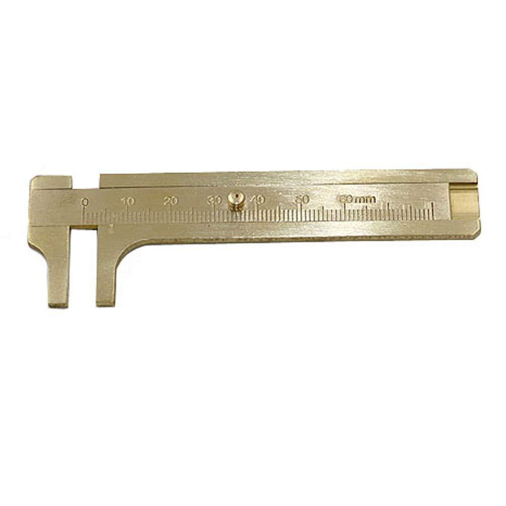 80mm Copper Alloy Caliper Micrometer Caliper,precise Clear Scale daily life Caliper