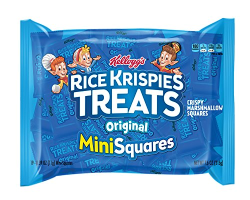 Rice Krispies Treats Mini Squares Made with Whole Grain, 600 Count by Rice Krispies