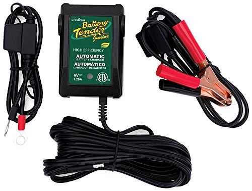 Battery Tender 022-0196 Junior High Efficiency Battery Charg