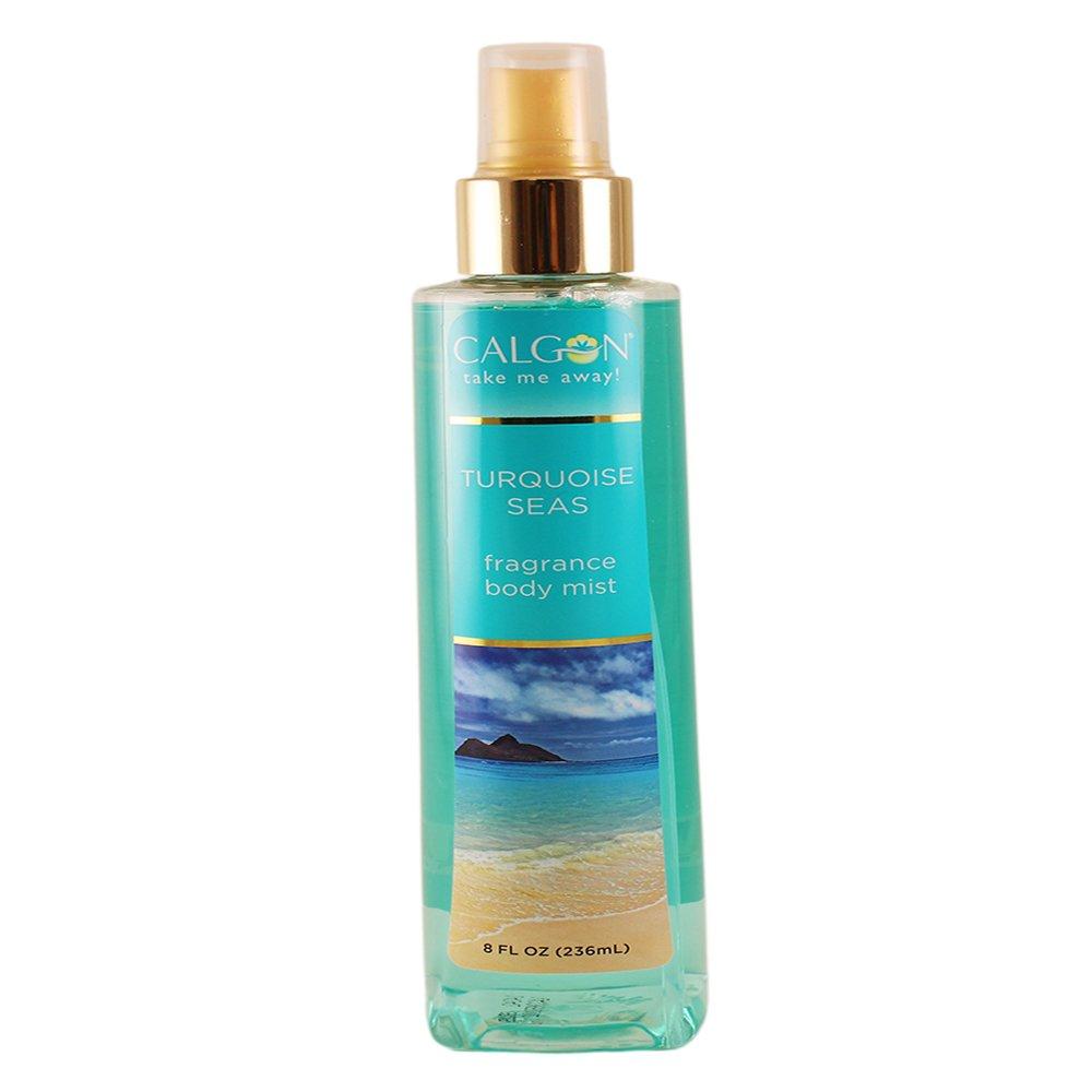 Calgon Fragrance Body Mist (Turquoise Seas, 8-Ounce)
