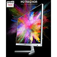 PRISM Korea M270EQ HDR 27 WQHD (2560x1440) 75Hz Slim Monitor, AMD Freesync, HDCP, LOS, Overdrive, DP, HDMI, Remote Included