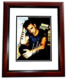 Liam Payne Signed - Autographed Strip that Down Singer - One Direction 1D 8x10 inch Photo MAHOGANY CUSTOM FRAME - Guaranteed to pass PSA/DNA or JSA