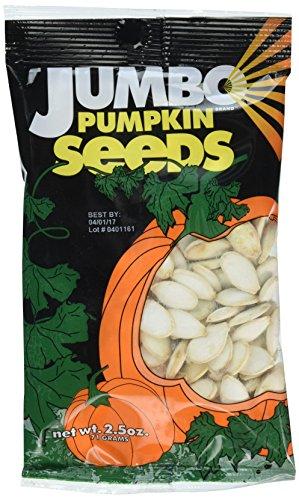 JUMBO SUNFLOWER SEEDS Pumpkin Seeds, Original, 20 Ounce (Pack of 8)