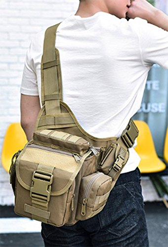 Shoulder Kahki Fashion Llxy Camera Canvas Satchel Bag Mens Bags Everyday Riding Utility Messenger Vintage SWw6IqAF