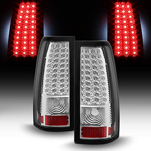 ACANII - For 2003-2006 Chevy Silverado 1500 2500HD 3500HD LED Tail Lights Brake Lamps 03-06