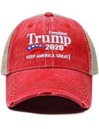 7d379f96bf9 Trump 2020 Keep America Great Campaign Embroidered USA Hat