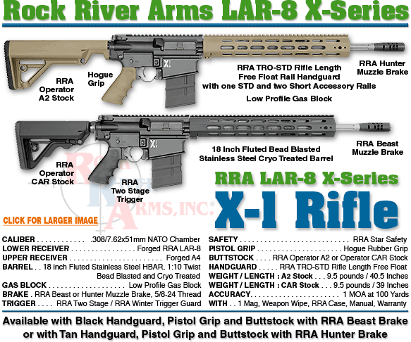 Rock River Arms: LAR-8 X-Series X-1 Rifle