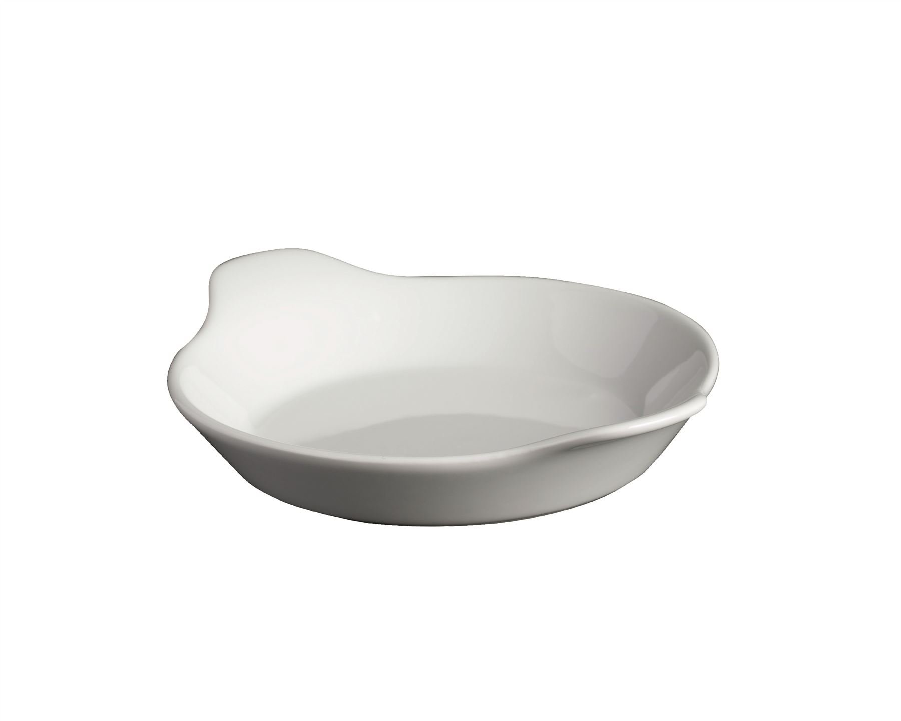 Royal Genware Porcelain Round Eared Dish 18cm/7''
