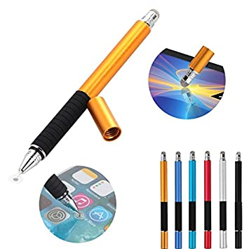 Phone Multifunction Capacitive Stylus Ball Pen Touch Screen Pen 2 In 1 Point