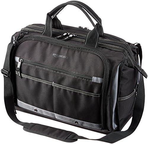 [スポンサー プロダクト]Amazonベーシック 工具 電気工仕様ツールバッグ 50ポケット