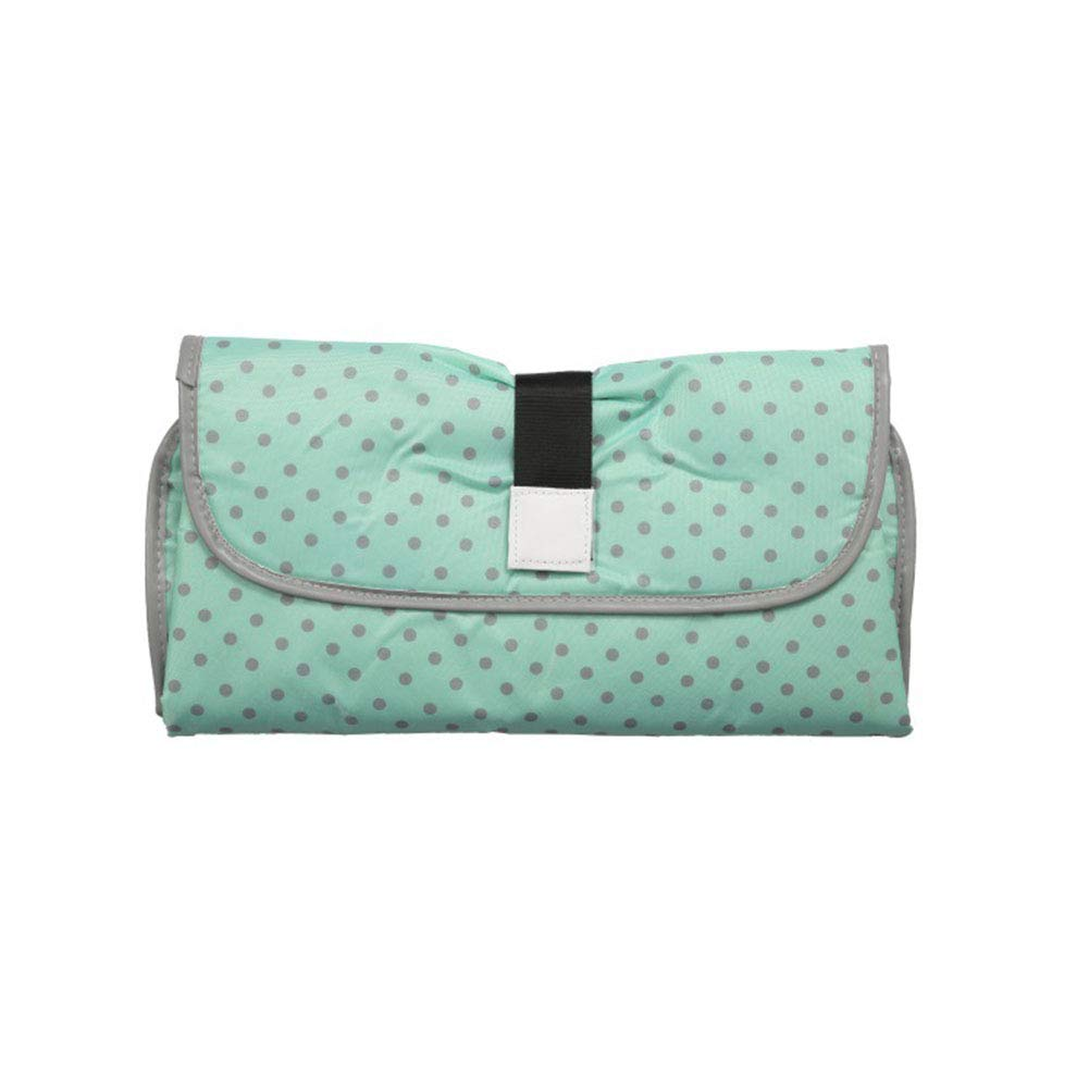 3-in-1 Diaper Clutch,Portable Clean Hands Changing Pad,Changing Station,Diaper-Time Playmat with Redirection Barrier