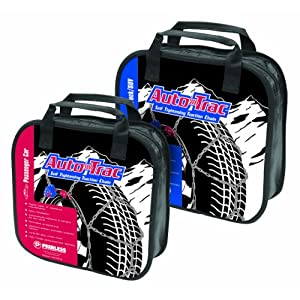 Peerless 0232105 Auto-Trac Light Truck/SUV Tire Traction Chain - Set of 2